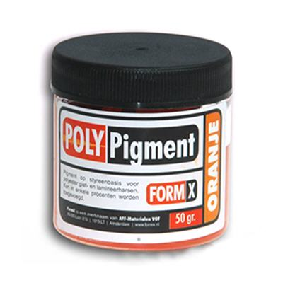 Pigments polyester
